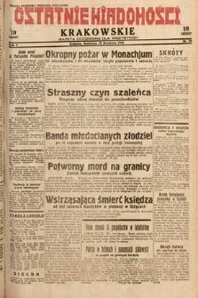 Ostatnie Wiadomości Krakowskie : gazeta codzienna dla wszystkich. 1932, nr99