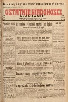 Ostatnie Wiadomości Krakowskie : gazeta codzienna dla wszystkich. 1932, nr100
