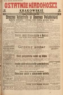 Ostatnie Wiadomości Krakowskie : gazeta codzienna dla wszystkich. 1932, nr103