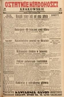 Ostatnie Wiadomości Krakowskie : gazeta codzienna dla wszystkich. 1932, nr105