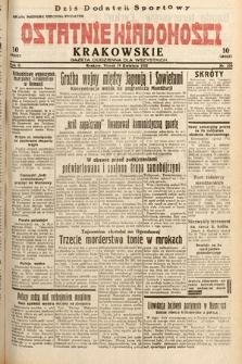 Ostatnie Wiadomości Krakowskie : gazeta codzienna dla wszystkich. 1932, nr108
