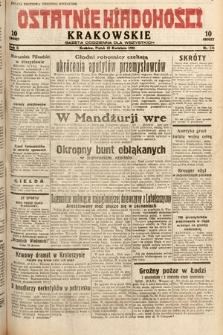 Ostatnie Wiadomości Krakowskie : gazeta codzienna dla wszystkich. 1932, nr111