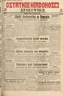 Ostatnie Wiadomości Krakowskie : gazeta codzienna dla wszystkich. 1932, nr112