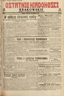 Ostatnie Wiadomości Krakowskie : gazeta codzienna dla wszystkich. 1932, nr113