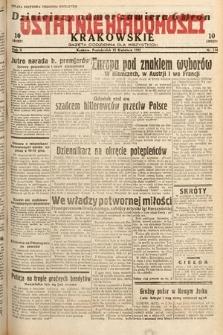 Ostatnie Wiadomości Krakowskie : gazeta codzienna dla wszystkich. 1932, nr114