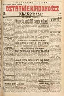 Ostatnie Wiadomości Krakowskie : gazeta codzienna dla wszystkich. 1932, nr115