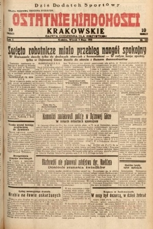 Ostatnie Wiadomości Krakowskie : gazeta codzienna dla wszystkich. 1932, nr122