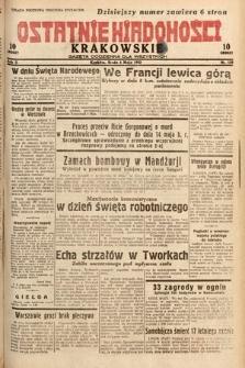 Ostatnie Wiadomości Krakowskie : gazeta codzienna dla wszystkich. 1932, nr123