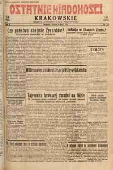 Ostatnie Wiadomości Krakowskie : gazeta codzienna dla wszystkich. 1932, nr125