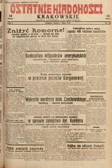 Ostatnie Wiadomości Krakowskie : gazeta codzienna dla wszystkich. 1932, nr126