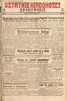 Ostatnie Wiadomości Krakowskie : gazeta codzienna dla wszystkich. 1932, nr133