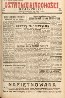 Ostatnie Wiadomości Krakowskie : gazeta codzienna dla wszystkich. 1932, nr134