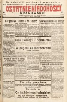 Ostatnie Wiadomości Krakowskie : gazeta codzienna dla wszystkich. 1932, nr136