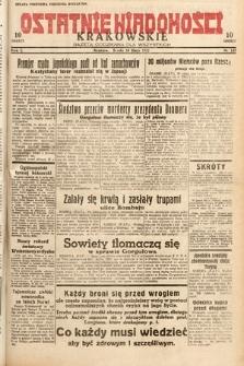 Ostatnie Wiadomości Krakowskie : gazeta codzienna dla wszystkich. 1932, nr137