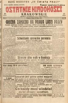 Ostatnie Wiadomości Krakowskie : gazeta codzienna dla wszystkich. 1932, nr139