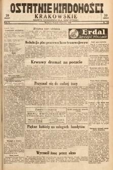 Ostatnie Wiadomości Krakowskie : gazeta codzienna dla wszystkich. 1932, nr153