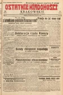 Ostatnie Wiadomości Krakowskie : gazeta codzienna dla wszystkich. 1932, nr156