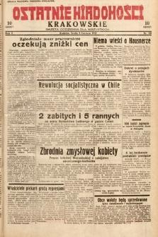 Ostatnie Wiadomości Krakowskie : gazeta codzienna dla wszystkich. 1932, nr158