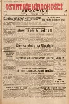Ostatnie Wiadomości Krakowskie : gazeta codzienna dla wszystkich. 1932, nr162