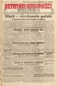 Ostatnie Wiadomości Krakowskie : gazeta codzienna dla wszystkich. 1932, nr170