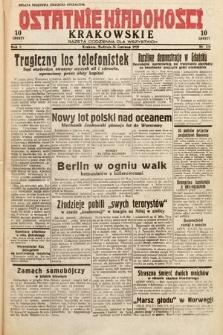 Ostatnie Wiadomości Krakowskie : gazeta codzienna dla wszystkich. 1932, nr176