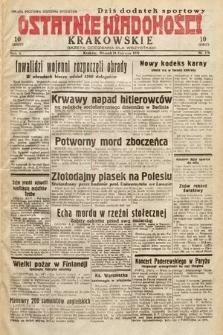 Ostatnie Wiadomości Krakowskie : gazeta codzienna dla wszystkich. 1932, nr178