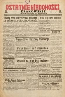 Ostatnie Wiadomości Krakowskie : gazeta codzienna dla wszystkich. 1932, nr181