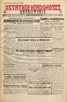 Ostatnie Wiadomości Krakowskie : gazeta codzienna dla wszystkich. 1932, nr184