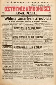 Ostatnie Wiadomości Krakowskie : gazeta codzienna dla wszystkich. 1932, nr188