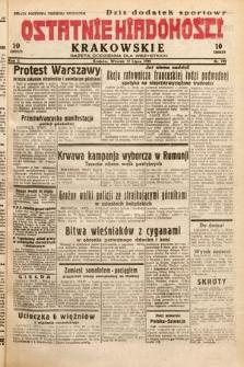 Ostatnie Wiadomości Krakowskie : gazeta codzienna dla wszystkich. 1932, nr192