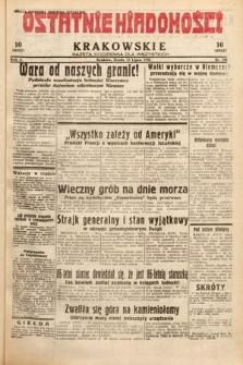 Ostatnie Wiadomości Krakowskie : gazeta codzienna dla wszystkich. 1932, nr193