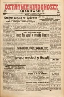 Ostatnie Wiadomości Krakowskie : gazeta codzienna dla wszystkich. 1932, nr194