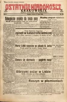 Ostatnie Wiadomości Krakowskie : gazeta codzienna dla wszystkich. 1932, nr196