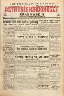 Ostatnie Wiadomości Krakowskie : gazeta codzienna dla wszystkich. 1932, nr197
