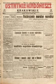 Ostatnie Wiadomości Krakowskie : gazeta codzienna dla wszystkich. 1932, nr199