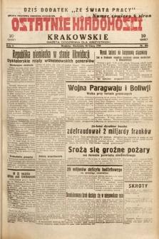 Ostatnie Wiadomości Krakowskie : gazeta codzienna dla wszystkich. 1932, nr204
