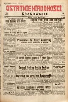 Ostatnie Wiadomości Krakowskie : gazeta codzienna dla wszystkich. 1932, nr208