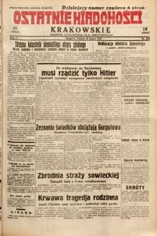 Ostatnie Wiadomości Krakowskie : gazeta codzienna dla wszystkich. 1932, nr209