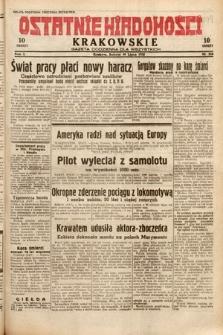 Ostatnie Wiadomości Krakowskie : gazeta codzienna dla wszystkich. 1932, nr210