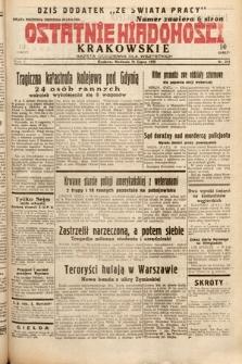 Ostatnie Wiadomości Krakowskie : gazeta codzienna dla wszystkich. 1932, nr211