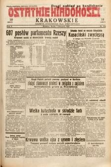 Ostatnie Wiadomości Krakowskie : gazeta codzienna dla wszystkich. 1932, nr214