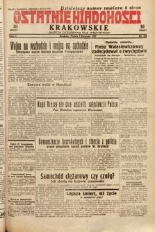 Ostatnie Wiadomości Krakowskie : gazeta codzienna dla wszystkich. 1932, nr216