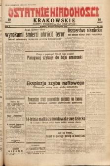 Ostatnie Wiadomości Krakowskie : gazeta codzienna dla wszystkich. 1932, nr218