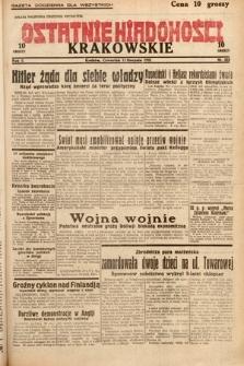 Ostatnie Wiadomości Krakowskie. 1932, nr222