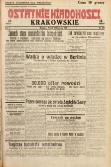 Ostatnie Wiadomości Krakowskie. 1932, nr223