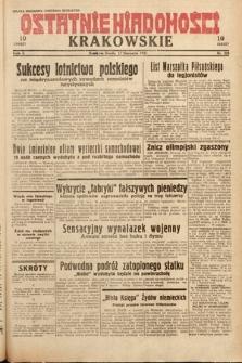 Ostatnie Wiadomości Krakowskie. 1932, nr228