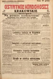 Ostatnie Wiadomości Krakowskie. 1932, nr235
