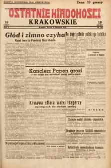 Ostatnie Wiadomości Krakowskie. 1932, nr242