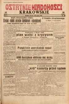 Ostatnie Wiadomości Krakowskie. 1932, nr249