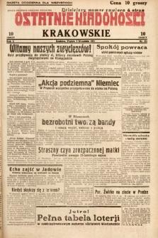 Ostatnie Wiadomości Krakowskie. 1932, nr251